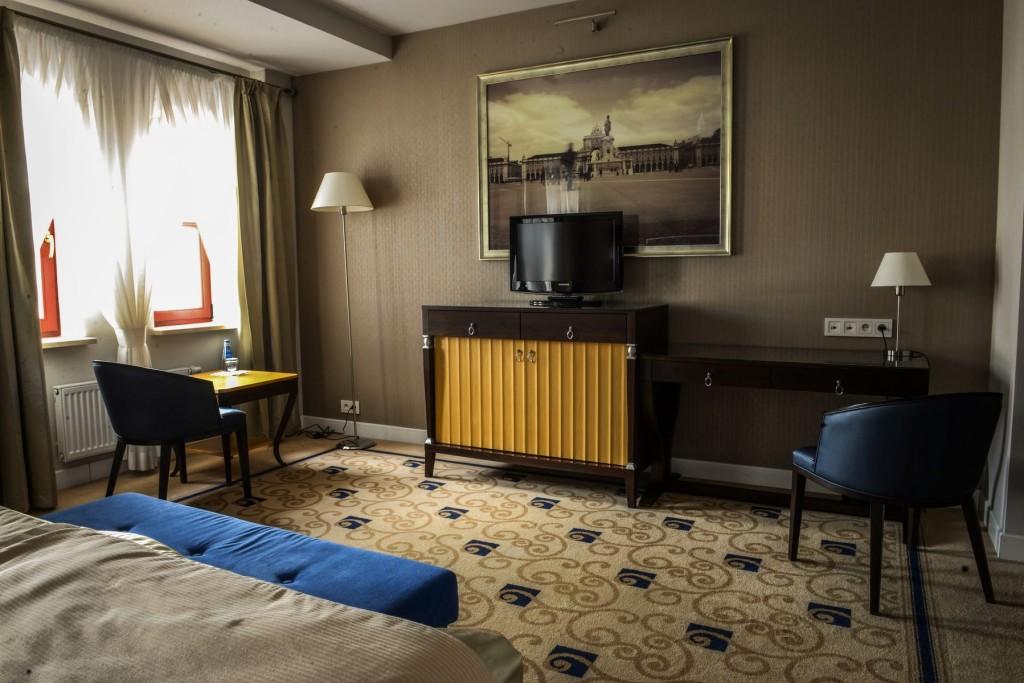 Pokój Dwuosobowy Queen Hotel Olsztyn Hotel Dyplomat